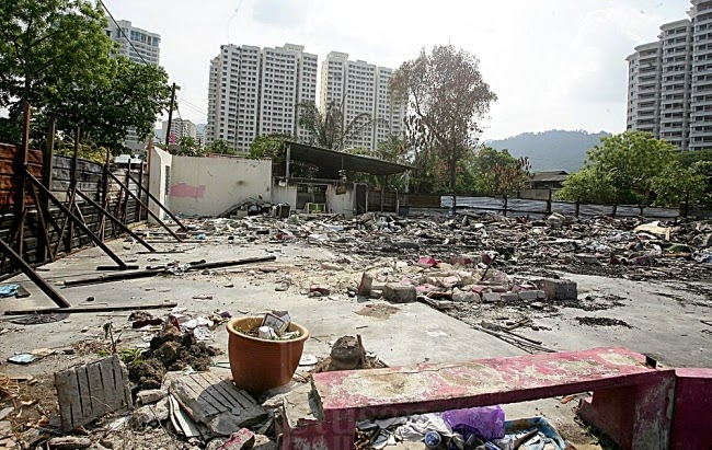 Penduduk bakal dihalau 1 lagi kampung tradisional melayu lebih 100 tahun bakal lenyap di P Pinang