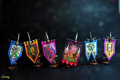 Estandartes de los Elfos Oscuros