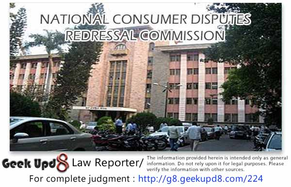 Respondent does not reside under the jurisdiction of the Consumer Forum and the cause of action also did not arise in its jurisdiction and hence the District Consumer Forum did not have jurisdiction to deal with the complaint
