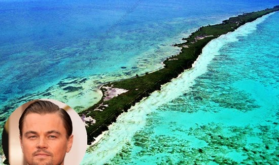 leonardo dicaprio : selebriti yang memiliki pulau pribadi