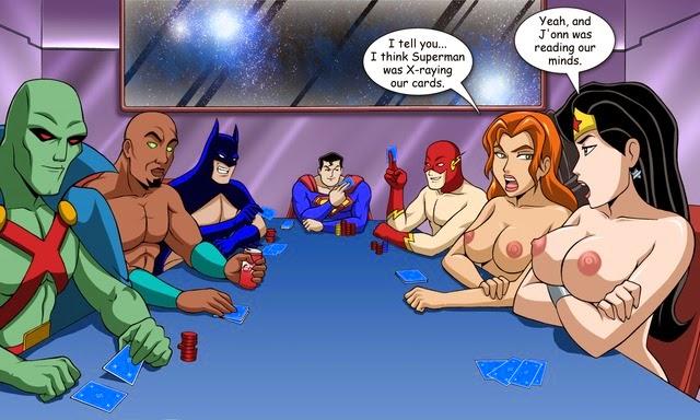 Порно хентай супергерои