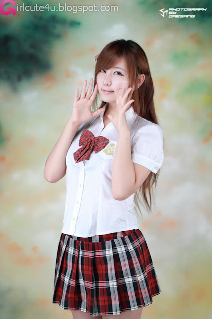 6 Ryu Ji Hye - School Girl-very cute asian girl-girlcute4u.blogspot.com
