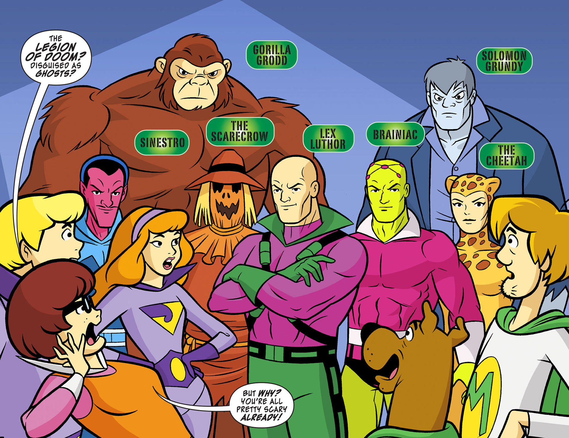 Read online Scooby-Doo! Team-Up comic -  Issue #12 - 3