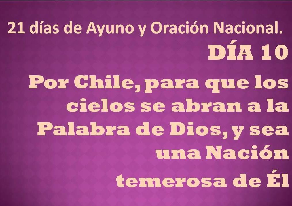 Oración del día 10.