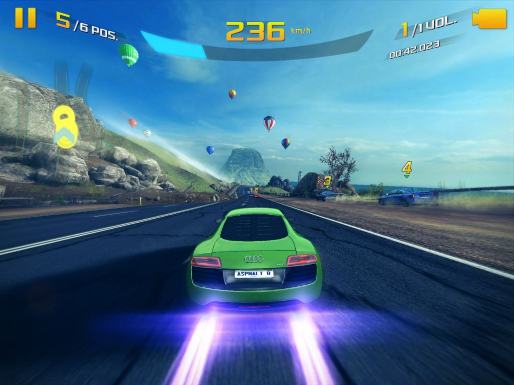 review asphalt 8 airborne mundo ios. Black Bedroom Furniture Sets. Home Design Ideas
