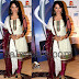 Tia Bajpai in White Salwar