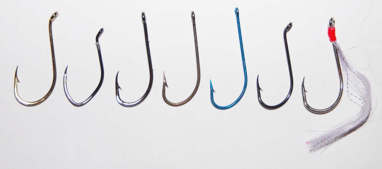 рыбацкий крючок нумерация