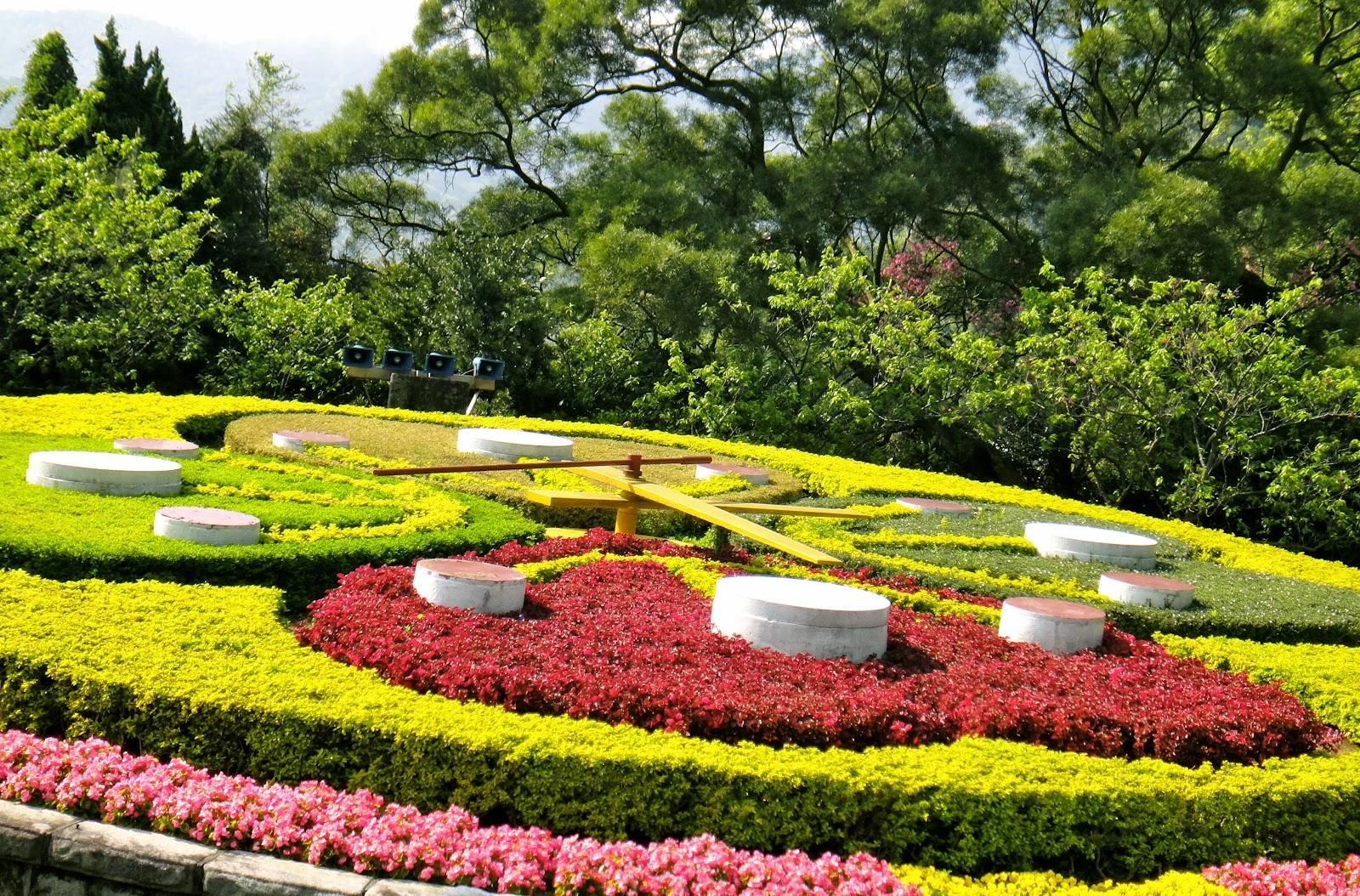 Yangmingshan Flower Clock Taiwan