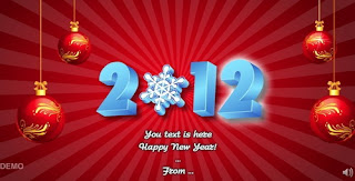 Newyear and Christmas Greeting  2012