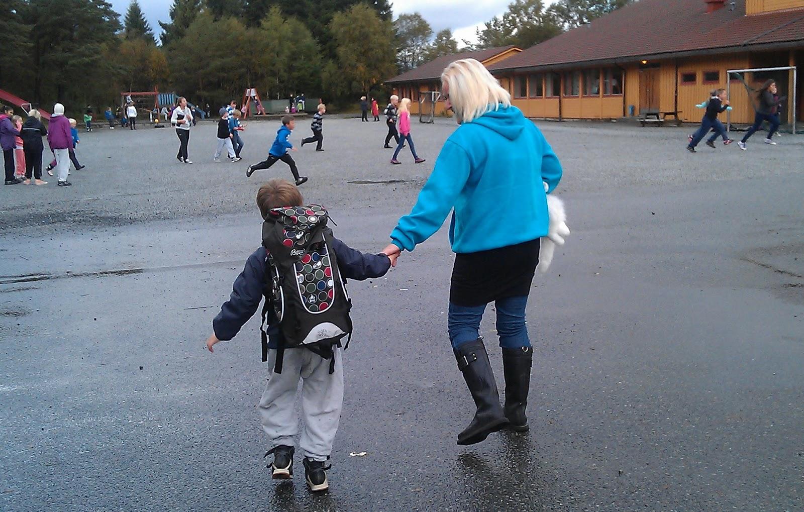 foreldre takle barn skole