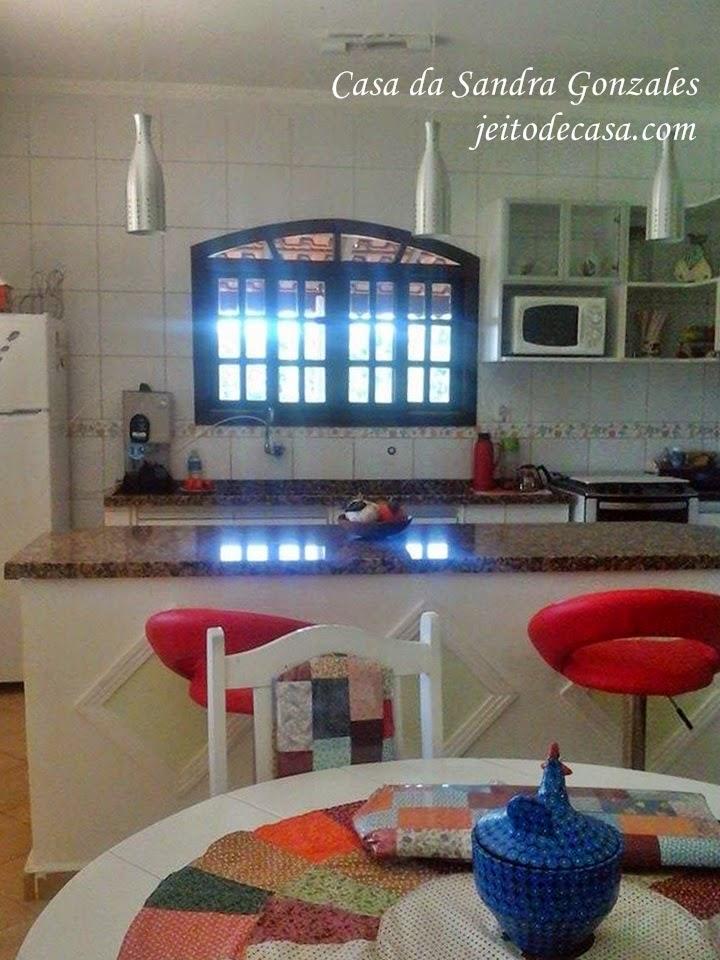 Cozinha com jeito de casa