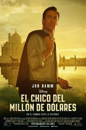 Poster Million Dollar Arm 2014