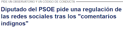 Diputado del PSOE pide una regulación de las redes sociales tras los  comentarios indignos