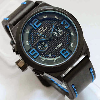 Oakley Chronograph Black Blue