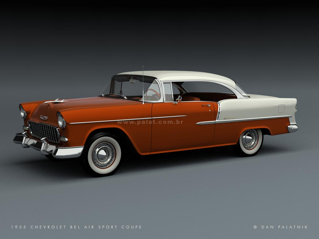 1956 chevrolet bel air images photo 56 chevy belair dv 06 - Two More Color Options
