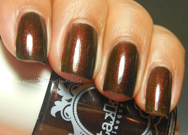 Takko Lacquer Opium Swatch And Review