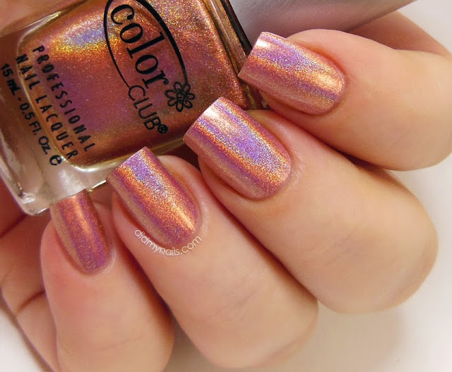 Color Club Cosmic Fate swatch