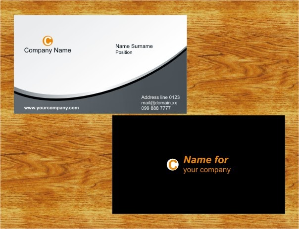 Classic business cards click to download cdr file reheart Choice Image