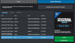 FM14 Steam Workshop install files