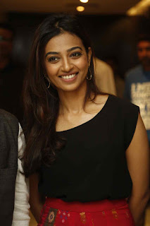 Radhika Apte Cute and Beautiful in Black Top and Red Skirt Absolutely Stunning Innocent babe Radhika Apte