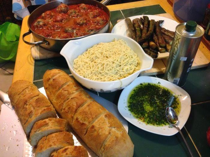 Refreshing news homemade italian dinner 10 pics for Italian dinner
