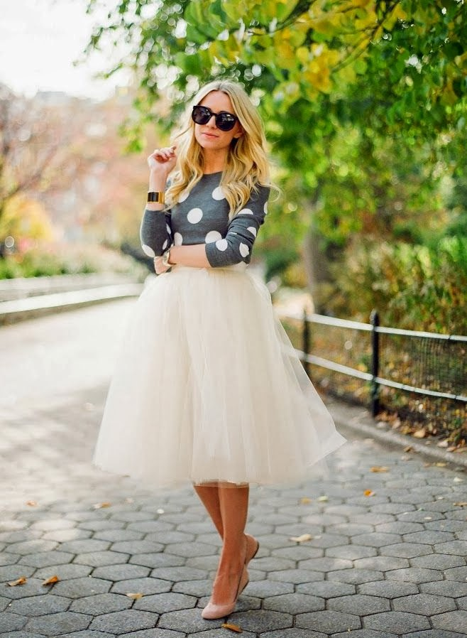Modest tulle knee and mid skirts | Mode-sty tznius fashion
