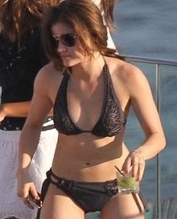 HD Wallpapers: Lucy Hale Hot Bikini