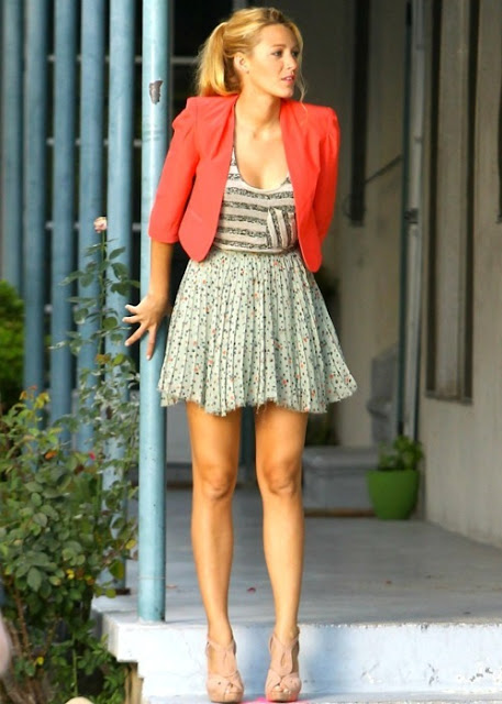 Not Ordinary Fashion Blog Style Report Blake Lively
