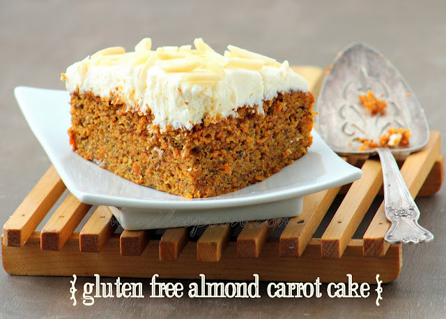 carrot, cake, gluten-free, almond, sweets, cream cheese, frosting