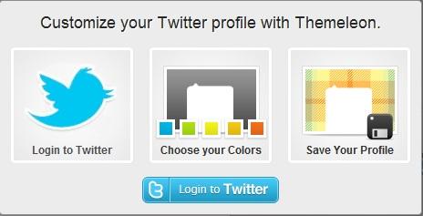 Cara mudah dan cepat Membuat Twitter, Cara Membuat Background Twitter