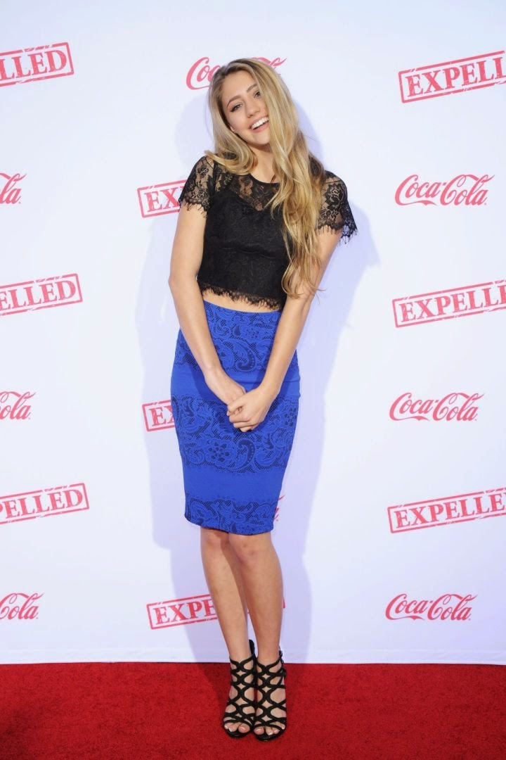 Lia Marie Johnson Looks Gorgeous at the Premiere of AwesomenessTV 'Expelled'