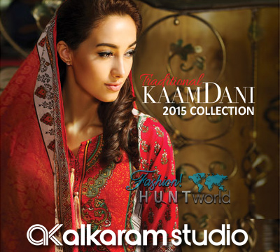Al Karam Studio Traditional KaamDani Collection 2015