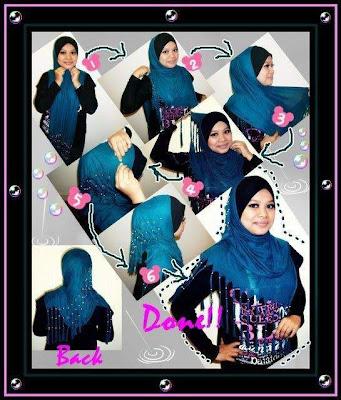 Gambar memakai Jilbab Modern