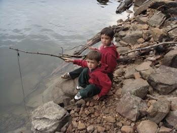 Boys Fishin'