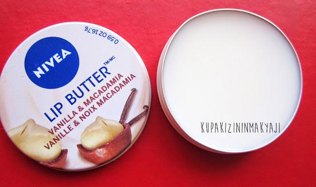 Nivea Lip Butter Vanilla&Macadamia