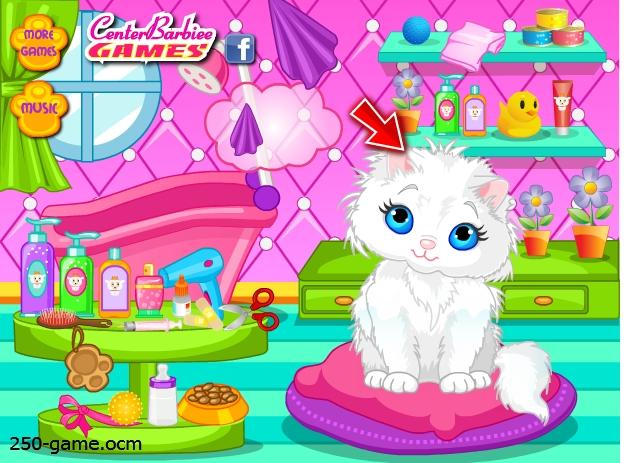 لعبة القطة الجميلة