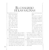 EL CANGREJO DE LAS SALINAS