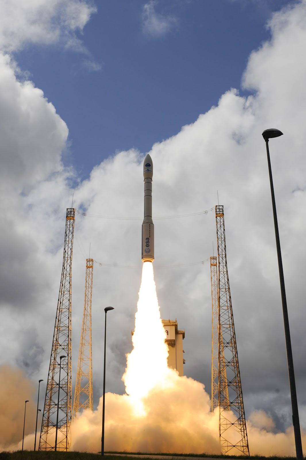 IXV, missione perfetta per il primo prototipo di spazioplano Europeo IXV, il video del lancio by ESA!