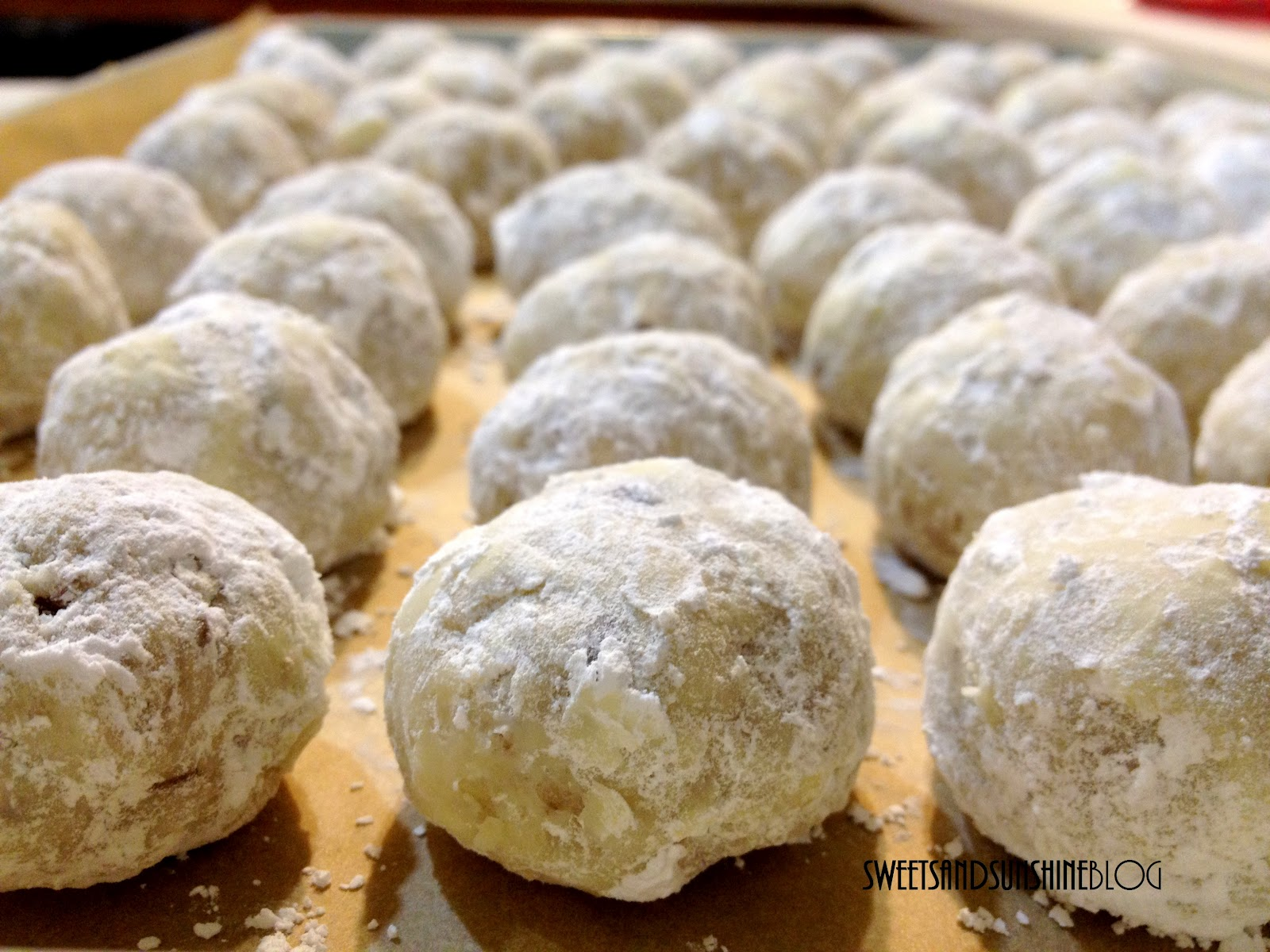 In the Works: Mexican Wedding Cookies (Snowballs)