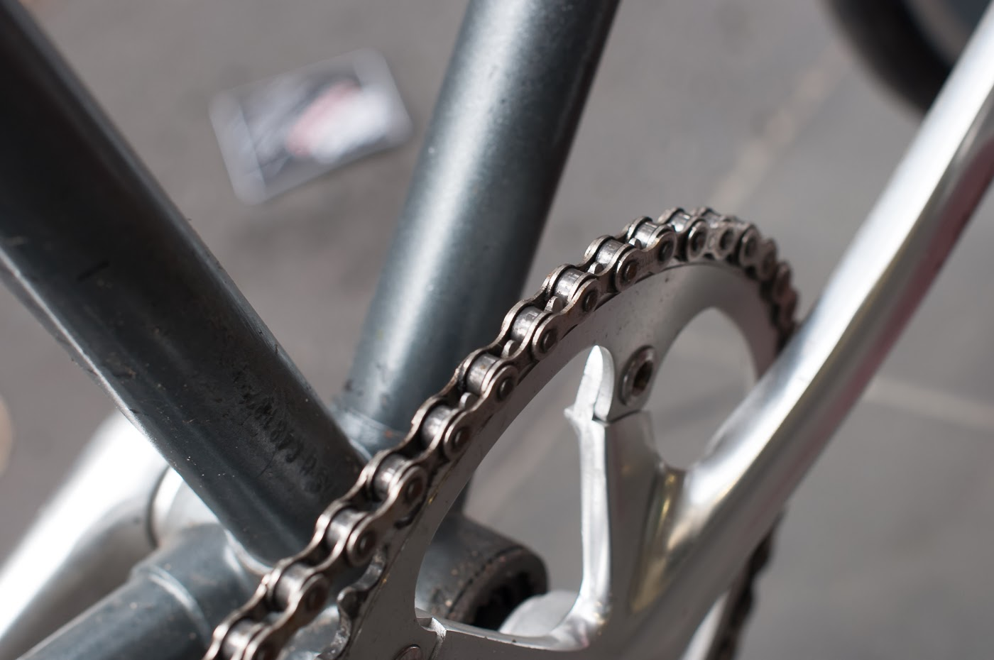 single speed, bike, bicycle, tim macauley, the biketorialist, melbourne, conversion, road bike, bourke st, custom, crank,