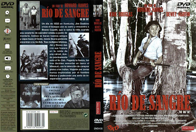 Río de sangre | 1952 | The Big Sky | Dvd Cover | Caratula