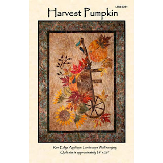 HARVEST PUMPKIN Quilt Pattern by Edyta Sitar of Laundry Basket Quilts