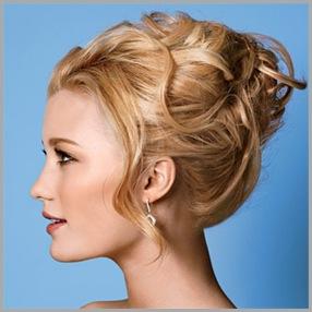 Peinados fáciles y sencillos de fiesta 2012