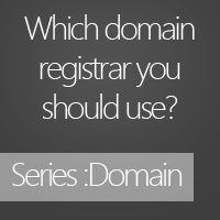 Which domain registrar you should use?