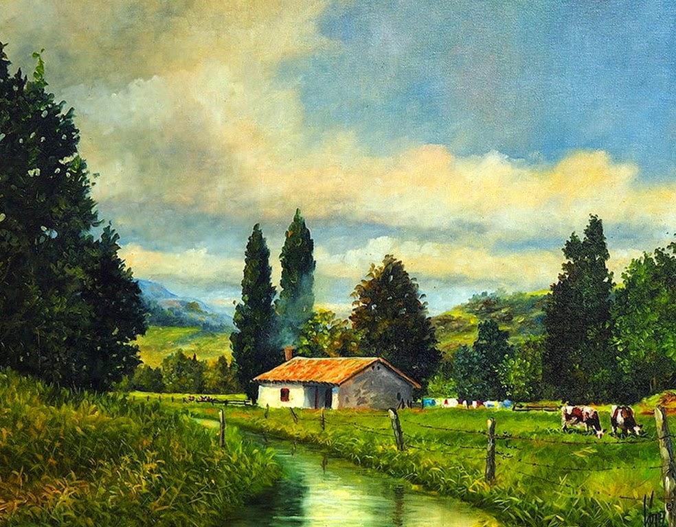 pinturas-de-pueblos-al-oleo