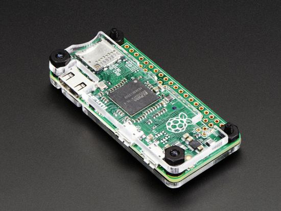 case adafruit para raspberry pi zero