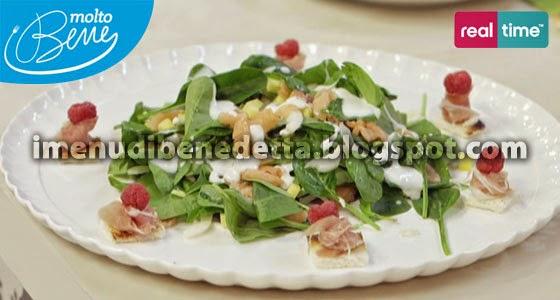 Fusion Salad con Crostini Golosi di Benedetta Parodi