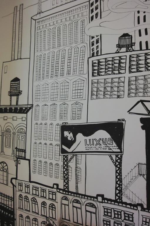espacechallens13 rues parall les dessin mural. Black Bedroom Furniture Sets. Home Design Ideas