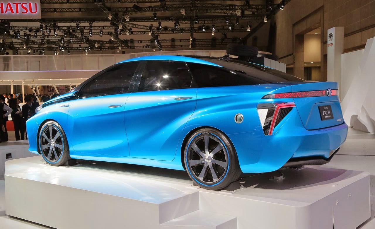 Salão do Automóvel: Toyota FCV movido a hidrogênio