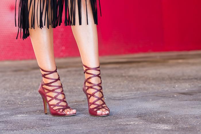Adicta a los zapatos con sandalias de la diseñadora Isabel MArant